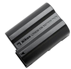 Genuina Nikon EN-EL15 - Bateria para camara de fotos para Nikon D600 (lithium ion) DSLR D750 D7100, D7000, D800E, D800, D610, D600, NIKON 1 V1