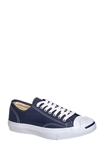 Converse Jack Purcell Canvas Low Top Sneaker Navy 8 M US Men / 10 M US Women