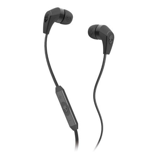 Skullcandy 50/50 Ear Buds With Mic3 Carbon Grey/Black (2012 Color), One Size