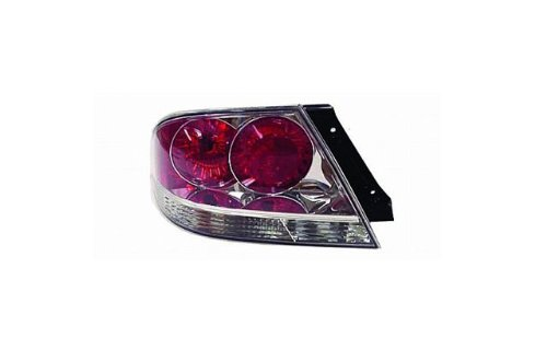 Mitsubishi Lancer (OZ Rally/Ralliart) Replacement Tail Light Assembly (Clear) - 1-Pair (04 Mitsubishi Light Assembly compare prices)