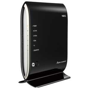 NEC Aterm WG2600HP 11ac/n/a(5GHz帯)&11n/g/b(2.4GHz帯) 同時利用タイプ 1733+800Mbps PA-WG2600HP