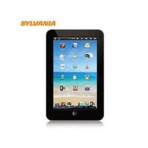 BRAND NEW Sylvania wireless mobile internet device SYNET7LP 7-Inch Mini Tablet (Black) 886004000044