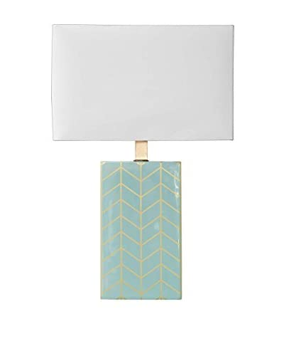 Mercana Maravilla II 1-Light Table Lamp, Mint Green