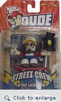 Picture of Spin Master Tech Deck Dude Ridiculously Awesome Street Crew #150 Lucasberg Figure (B002FRXBIE) (Spin Master Action Figures)