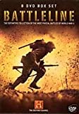 BATTLELINE 8 DVD BOX SET DEFINITIVE COLLECTION OF THE MOST PIVOTAL BATTLES OF WORLD WAR II