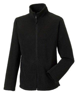 Russell 870M Mens Full Zip Outdoor Fleece Jacket Black 4XL