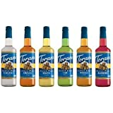 Torani Syrup, Sugar Free, Assorted Summer Flavors, 750-ML (Pack of 6)