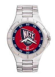 New Jersey Nets NBA PRO II Metal Sports Watch by Logo Art