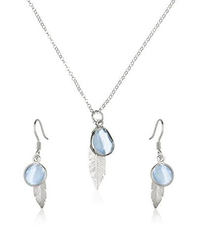 Cordoba Jewels Set catenina, pendente e orecchini argento 925