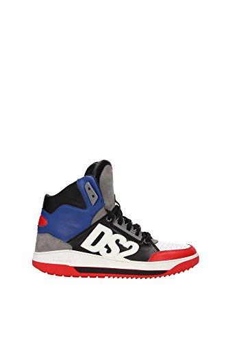 Dsquared2 ,  Herren Hohe Sneaker , Mehrfarbig - Bianco Nero - Größe: 40 thumbnail