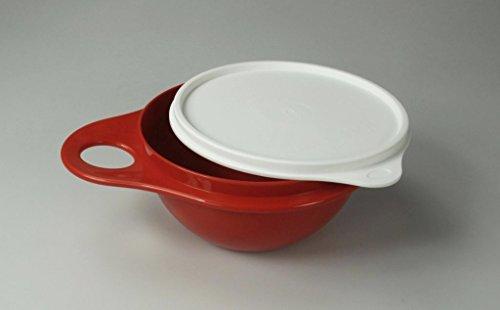 TUPPERWARE Salat Bar Mini Mix Schüssel rot 600 ml bowl Salatbar mit NEU Deckel