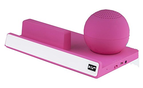 Supersonic Inc. Sc-1403bt Pink Portable Bt Spkr Tablet Stand at Electronic-Readers.com
