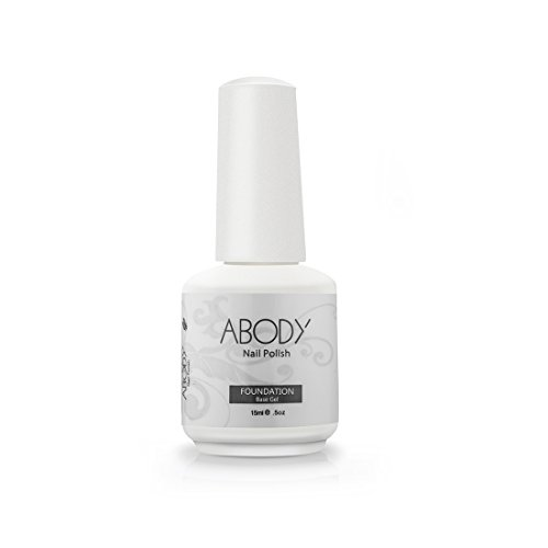 Abody® 15Ml Foundation Soak Off Base Coat For Nail Art Professional Shellac Lacquer Manicure Uv Lamp & Led 001