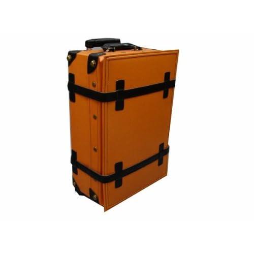 ハナイズム トランクキャリーバッグ - HANA ism -S06 キャメル×コスモブラック/キャリーケース・スーツケース