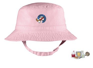 Embroidered Infant Bucket Cap with the image of: cleaning supplies
