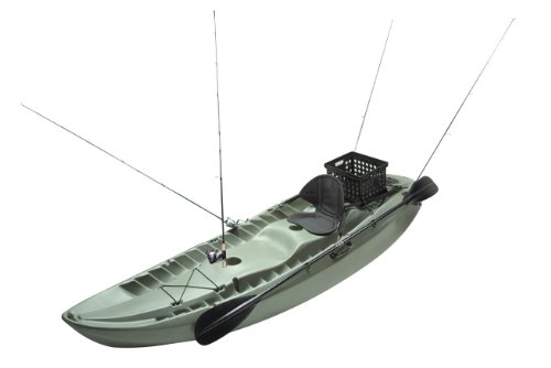 Lifetime Sport Fisher Kayak with Paddles and Backrests