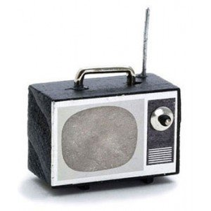 Dollhouse Portable Tv Set - 1