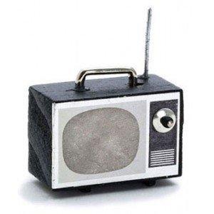Dollhouse Portable Tv Set - 1