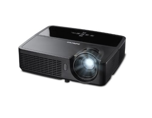 InFocus IN116 Portable DLP Projector, 3D ready, WXGA, 2700 Lumens