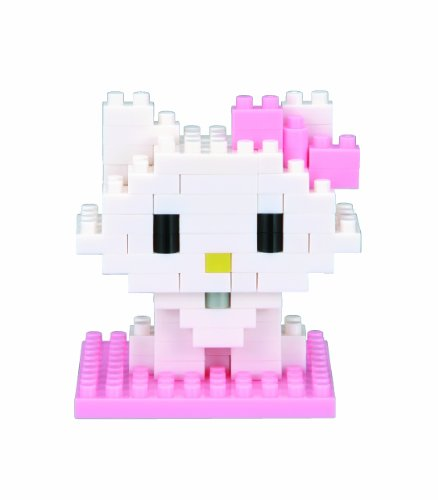 "Nanoblock NBCC-08""Charming Kitty "" Sanrio - 1"
