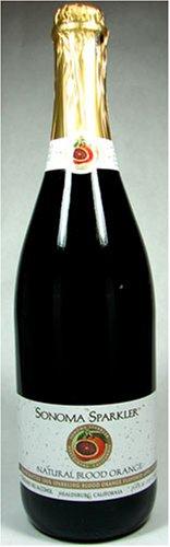 Sonoma Sparkler Natural Blood Orange Sparkling Apple Juice 750 Ml