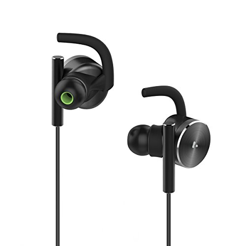 AXGIO Zest Bluetooth Earbuds V4.1 Magnetic Sports Headphones IPX6 Waterproof Headsets for iPhone 7,Samsung, Android Phones (Iphone 4s Metal Housing compare prices)