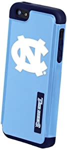 Buy Forever Collectibles NCAA North Carolina Tar Heels Dual Hybrid Hard Apple iPhone 5 5S Case by Forever Collectibles