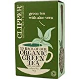 Clipper - Organic Green Tea And Aloe Vera - 20 Bag(S)
