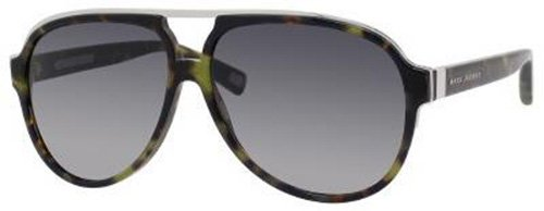 Marc Jacobs Marc Jacobs MJ421/S Sunglasses-0YBX Havana Green (HD Gray Gradient Lens)-60mm