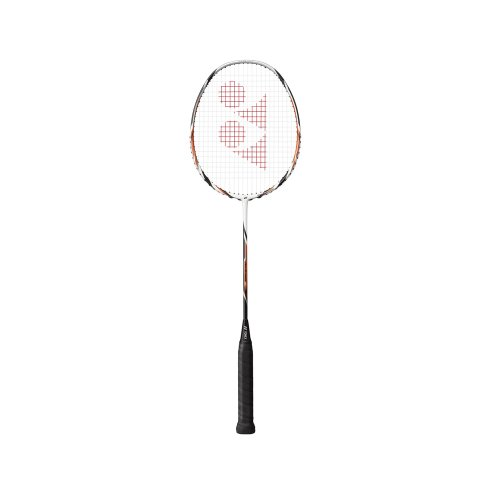 Yonex Arcsaber 6 Racquet, 5U G4 (White\/Orange) (multicolor)