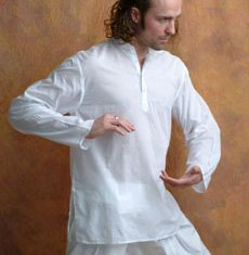 Men's White Kurta Shirt