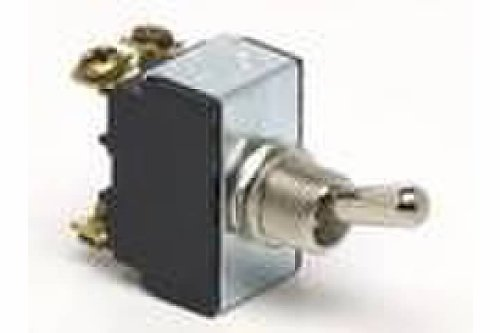 Jt&T Products (2645F) - 25 Amp @ 12 Volt - D.P.S.T. , Heavy Duty On/Off Toggle Switch With Four Screw Terminals
