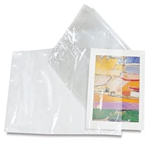 "Shrink Film Wrap Flat Bags - 100 Bags - 9"" x 14"" - 100 Gauge - Crystal Clear - Party/Wedding Favors - Gift Basket Supplies"