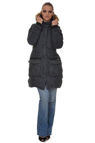 Giacca M.Conte Dorothea Donna Giacca con cappuccio grigio XL
