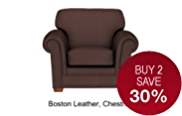 Fraser Armchair - Leather