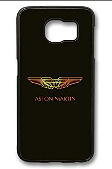 buy S6 Case,Hard Shell Plastic Pc [Black] Cover Snugly Sleek Slim Light Weight Frosted Colorful Vibrant Fit Headphones Port Oil Water Proof Samsung Galaxy S6-Aston Martin Symbol 26