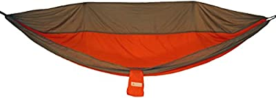 Backpacking and Camping Hammock - Lightweight and Portable Nylon Hammock with Tree Straps & Steel Carabiners Included
