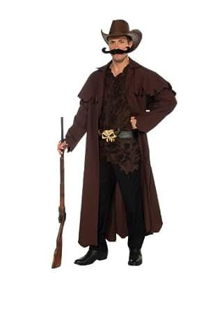 Rubie's Costume Deluxe Western Willy Cowboy, Black/Brown, Standard Costume