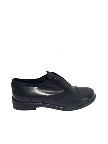 Francesine DV541/54 in pelle slip on divine follie vintage 40, nero MainApps