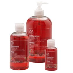 The Body Shop Strawberry Shower Gel Jumbo, 25.3-Fluid Ounce by The Body Shop