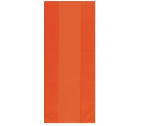 Orange Large Party Bags 25ct