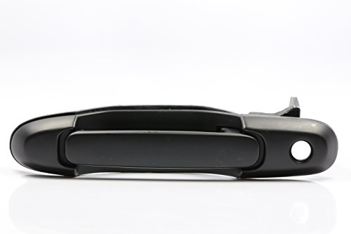 Performance PFM-172643 Smooth Black Front Left Driver Side Exterior Outside Door Handle for Toyota Sienna car accessories luxury sports door wrist bowl stick handle decorative exterior smooth paste for hyundai elantra 2012 2016