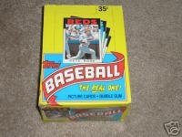 1986 TOPPS MLB Baseball Sealed Unopened Wax Packs of Old Baseball Cards. There are 36... by Topps