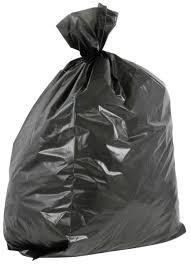100 Black Heavy Duty Refuse Sack / Bags 18x29x34 Bin Bags