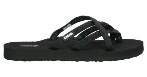 Teva Women'S Olowahu Sandals,Mix B Black On Black,12 M Us front-1036352