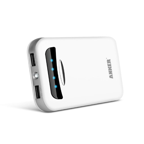 Anker� Astro E5 15000mAh Dual USB Little Charger Ultra-High Density Extrinsic Battery Pack for iPad Air, Mini, iPhone 5S, 5C, 5, 4S, Galaxy S5, S4, S3, Note 3, Galaxy Tab 3, 2, Nexus 4, 5, 7, 10, HTC One, One 2 (M8), Motorola Droid, MOTO X, LG Optimus and