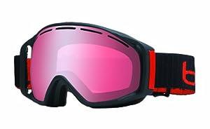 Bolle Gravity Goggle with Vermillon Gun Lens - Matte Black, Medium/Large