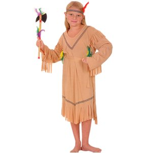 Just For Fun Indian Girl Fancy Dress Costume (Child Size) - Small
