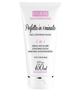 Pupa multifunzione perfetta in 1 minuto crema viso 24 ore contorno occhi maschera anti-stanchezza 150 ml