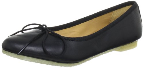 Clarks Lia Grace 20352788, Ballerine donna, Nero (Schwarz (Black Leather)), 39.5